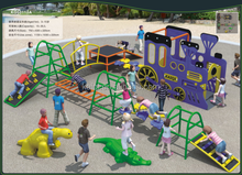 Best quality and hot sale kids middle fitness outdoor playground equipment