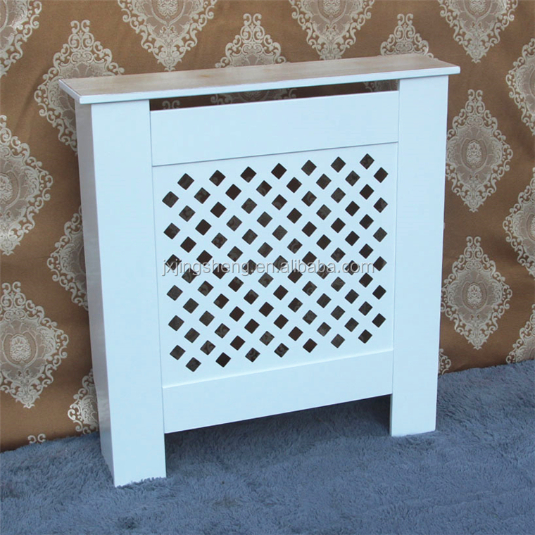 two tone Heat Grills Kast Radiator Cover Prijs Painted S / M / L / Verstelbare Radiator Cover