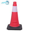 Easy to operate lightweight hazardous areas red road safety cones