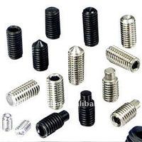 cone point hex socket set screws dog or ball point manufacturer