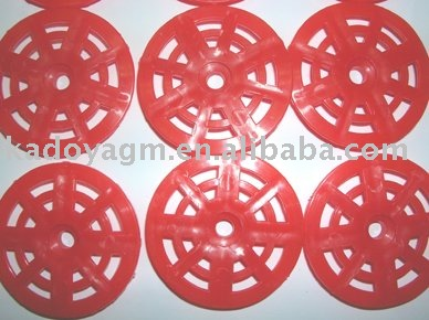 Best price clear nylon washers plastic washers for roofing nails