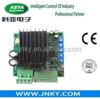 48v pwm brush dc motor controller enabled reversing for Small dc motor controller