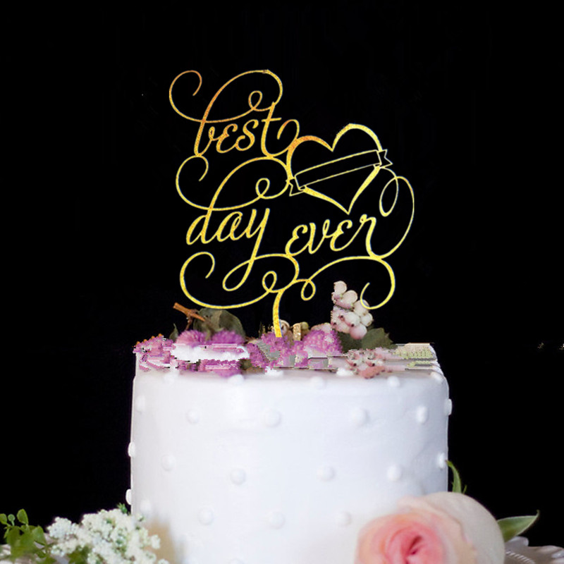 Us 6 57 6 Off Wedding Cake Topper