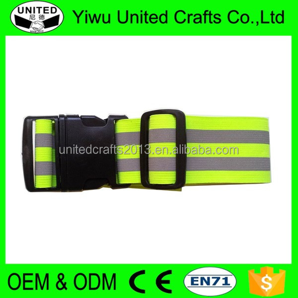 2016 cheap Safety Night Reflective Belt Strap Arm Band