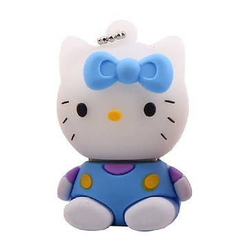Factory Price Customized PVC Cartoon Figure Hellokitty USB 2.0 Flash Drive Gifts