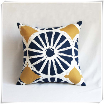 Promotional Customized Size Plain Cotton Throw Pillow Cover With