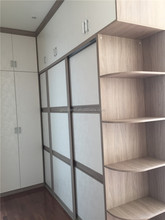 Full house customized space saving simple design bedroom wardrobe/closet(FOH-WCE1022)