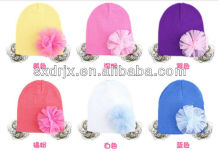 cute baby cotton cap for autumn and winter