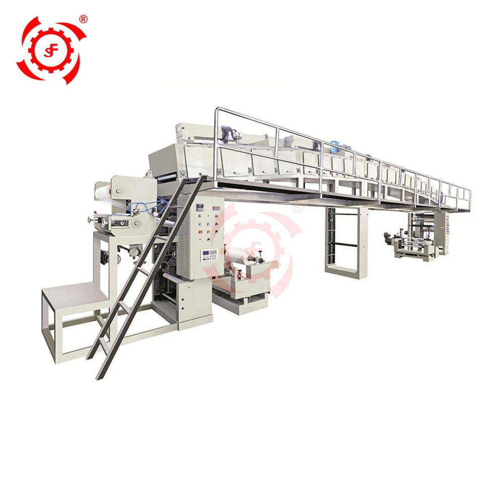 LIFENG GF1050AC Solvent Base Hot Melt Plastic Alu PP PE OPP Paper Packaging Film Dry Laminating Machine Price