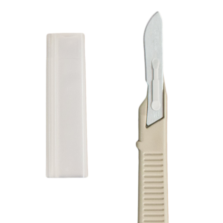 Dynarex 4110-B  Disposable Scalpels, Sterile, Number 10, 10/bx