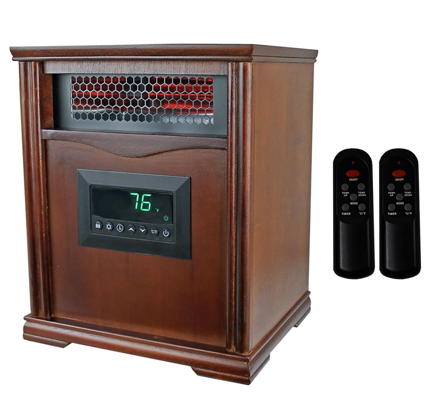 LifeSmart LifePro LS-1001HH 1,500 Watts Infrared Quartz Electric Portable Heater