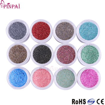 Pinpai Brand Resin Pmma Bulk Polymer Nail Supplies Dipping Glitter Acrylic  Nail Art Powder 12 Colors Acrylic Powder - Buy Acrylic Powder,Acrylic Nail