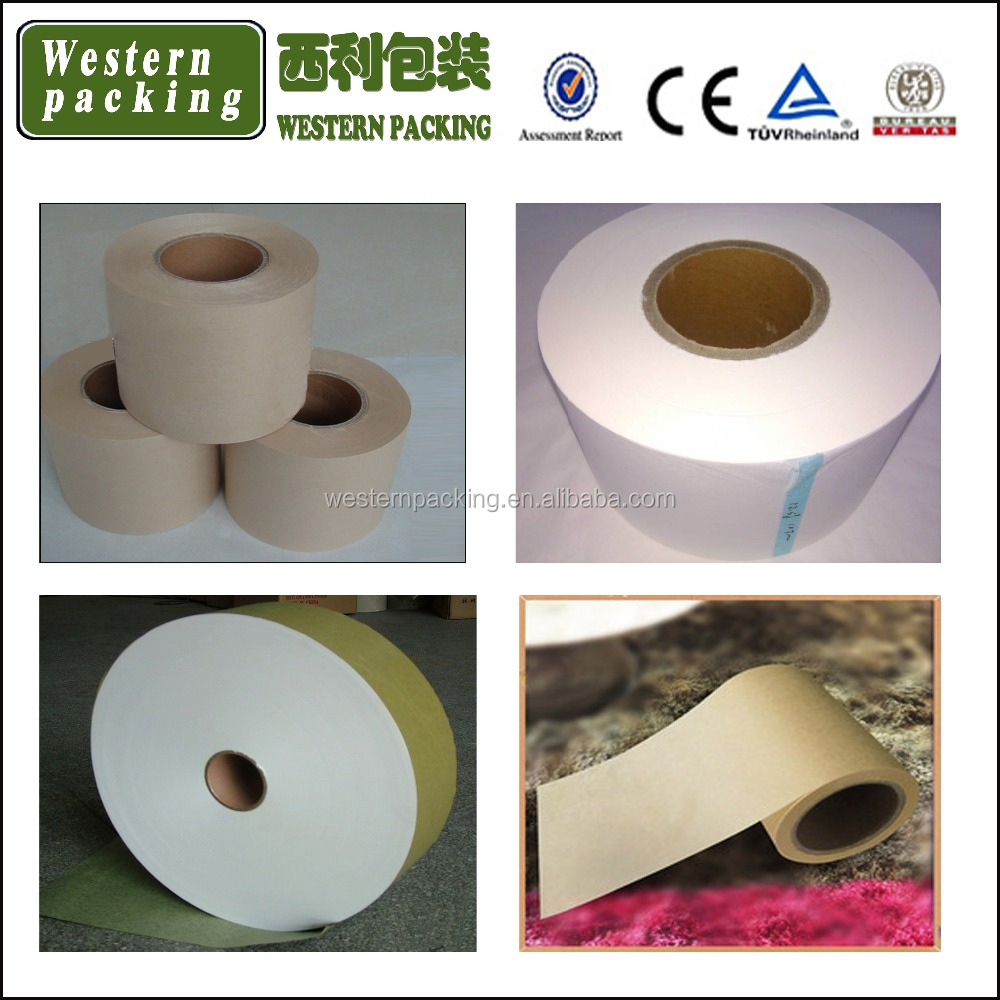 White 22gsm 125mm tea bag filter paper, heat sealing teabag filter paper, 5 micron filter paper