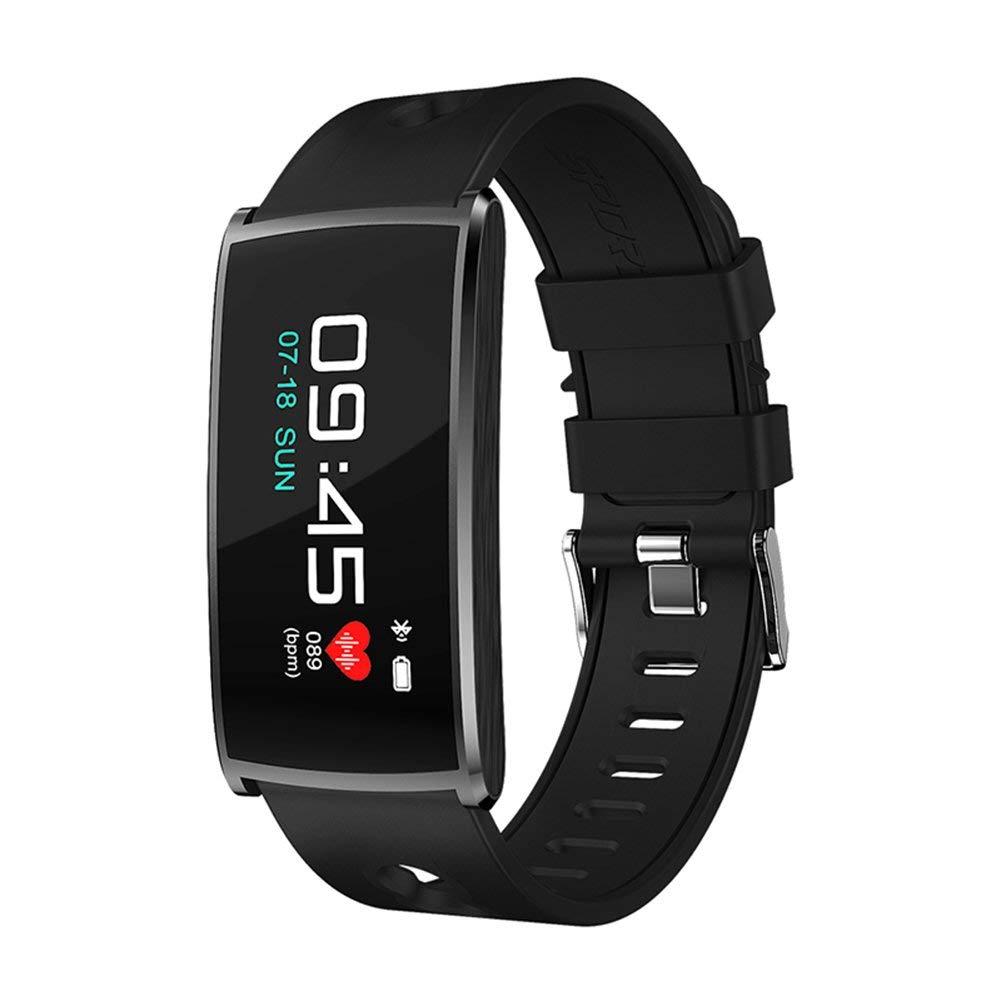 Uhruolo Fitness Tracker, Smartwatch, With Bluetooth Pedometer, Camera, Blood Oxygen Blood Pressure Heart Rate Sleep Monitor Smart Bracelet Activity Tracker, For Kids Men Women Fitness Watch,Bl