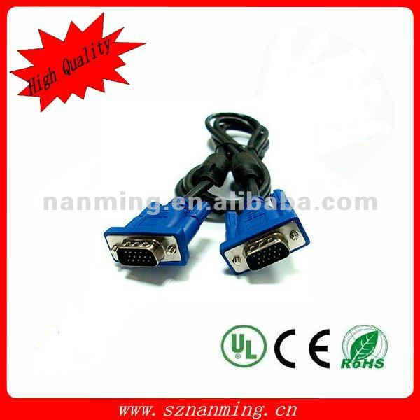 vag svga male to male 15pin monitor video cable