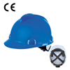 head protection V type construction safety helmet