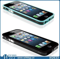 for iPhone 5S Bumper Clear TPU Mobile Phone Accessories, Ship by Alibaba Express