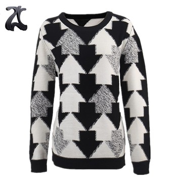 Fashion Custom Fancy Cotton Knitted New Sweater Designs for Women