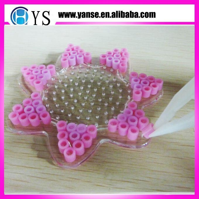 Flower shaped perler beads/EVA beads/special shape beads