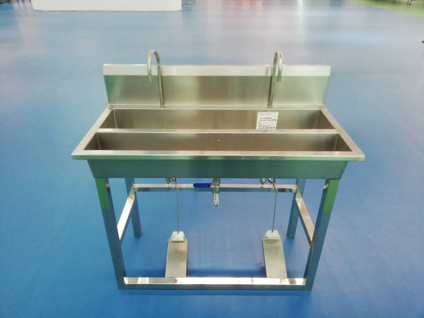 Hot sale industrial customized Stainless steel hand washing basin for food processing factory