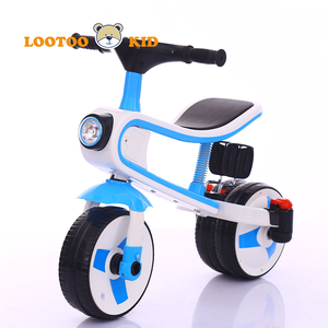 Ride on toy tricycle kick scooter / three wheel bike toddler / plastic tricycles for children