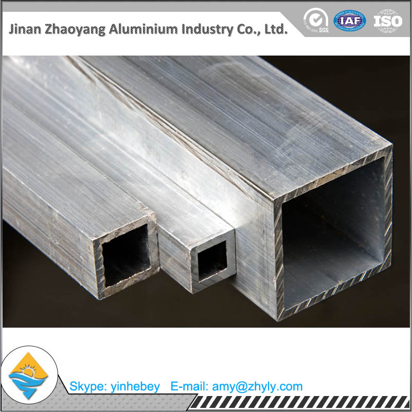 6061 T6 square aluminum tube for building