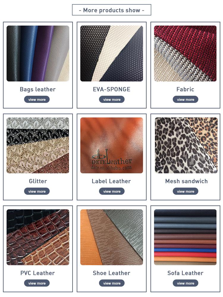 Pvc película de transferencia de leopardo película patente de cuero brillante para bolsos y zapatos, hecho en china