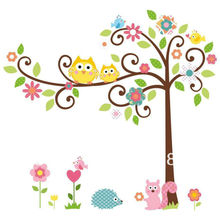 2013 Kids lovely Wall Puffy Stickers With Bear Graphics