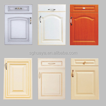 PVC veneer mdf door panel for modular indian kitchen cabinets & Pvc Veneer Mdf Door Panel For Modular Indian Kitchen Cabinets ... Pezcame.Com