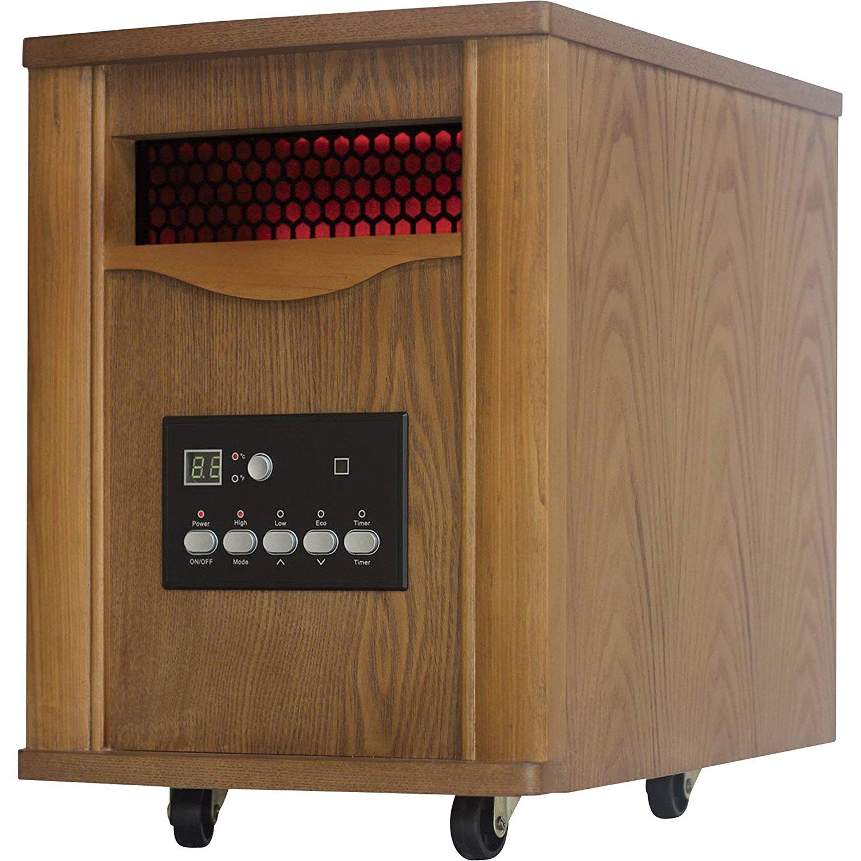 ProFusion Heat Infrared Quartz Heater - 5200 BTU, Oak, Model# WH-50G