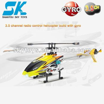jxd 349 3.5ch Gyro Rc Helicopter Single Propeller Blade 3d Metal 3 ...