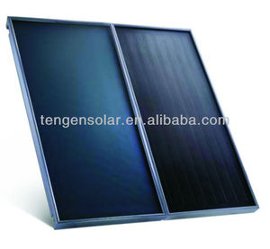 Guangzhou solar double flat plate panel water heater collector