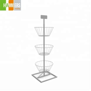 Flooring rotating metal wire toy display stand spinning retail display racks
