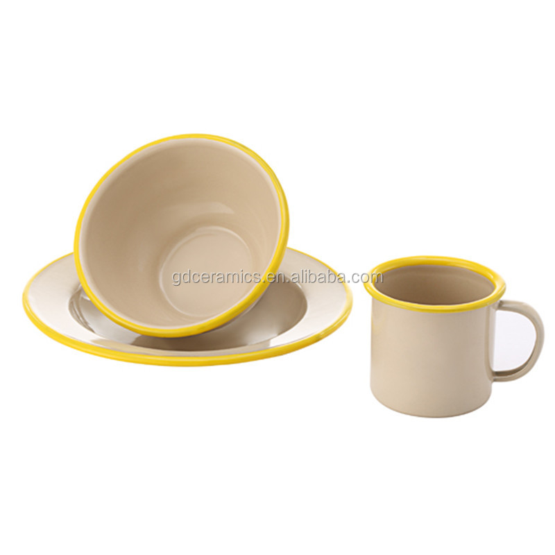 Guangzhou Factory Dinnerware Sets For Cup Bowl Saucer