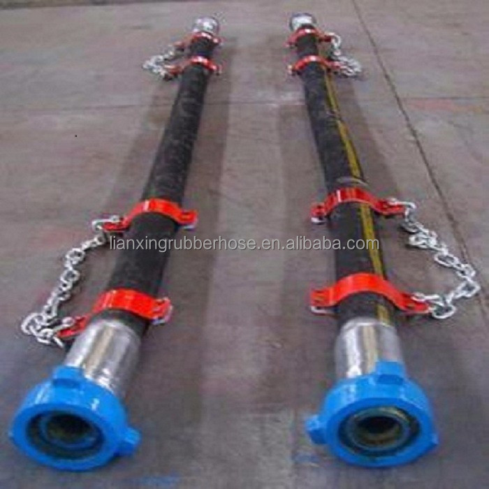 API 7K/ISO 9001/API Q1 mud pump vibrating drilling rubber hose manufacturer in very reasonable price