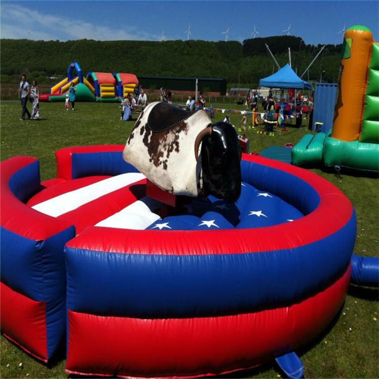 2019 venda imperdível esteira mecânica inflável colchão de touro rodeo montar brinquedos fantasia para mecânica bull venda