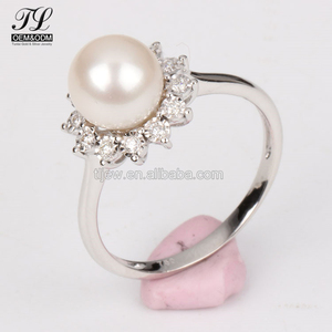 a9c4b7ef3a7a0 Custom design american diamond pearl ring designs for men+cheap bulk rings
