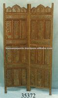 Asian design wood carving partitions/ designer carved wooden screens,Home / 35372