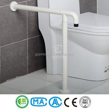 Ss Handgreep Toilet Badkamer Veiligheid Grond Bar Steunen Nylon En ...