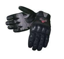 Victory Motorcycle Mens Black Medina Mesh Glove- 2xlarge