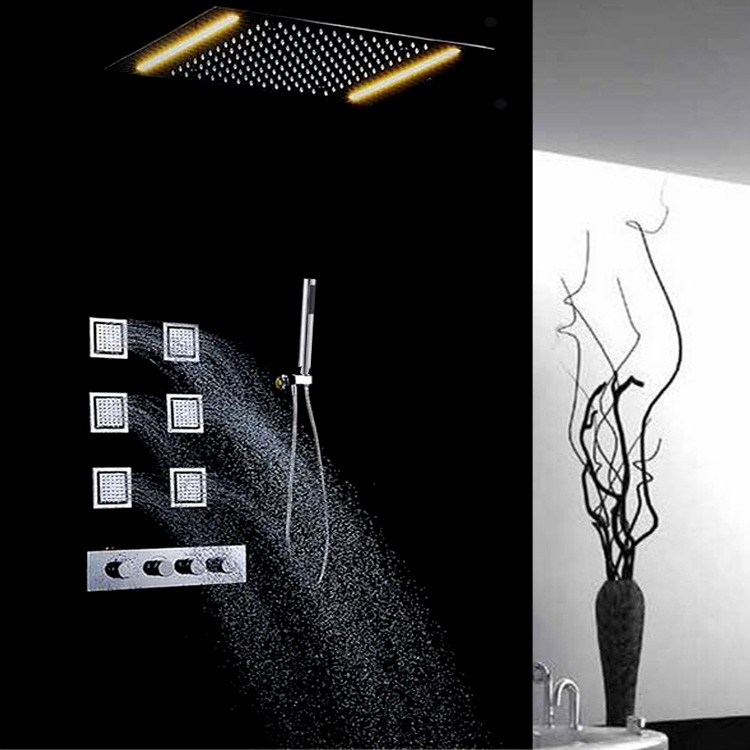 cheap rain shower head. led rain shower head  rainfall 20 inch ceiling mounted bathroom stainless Led Rain Shower Head 12 R Limonchello info