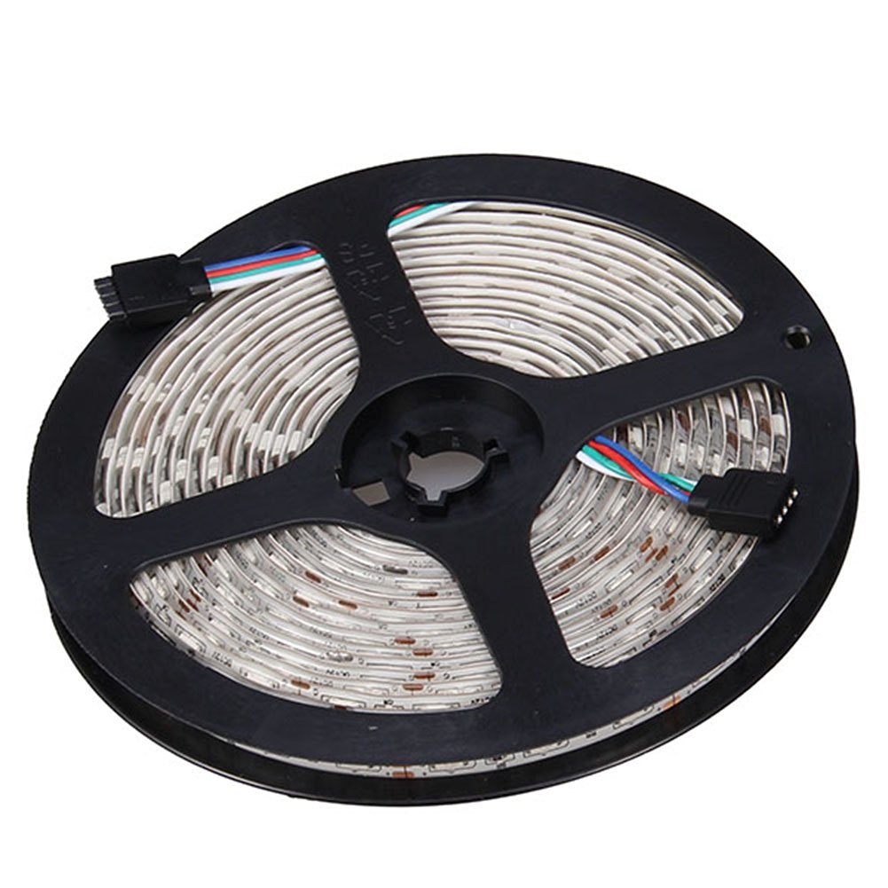 NEWSTYLE 16.4FT 5M SMD 5050 Water-resistant 300LEDs RGB Flexible LED Strip Light Lamp