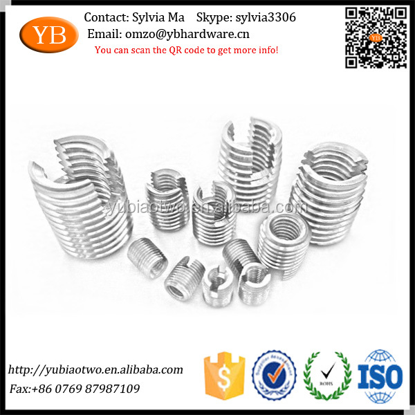SUS303 Self Tapping Threaded Insert Nuts Use on Machinery
