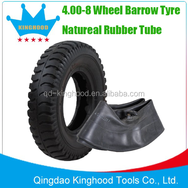 Lug Pattern 4.00-8 WHEELBARROW TYRE TUBE Tr87