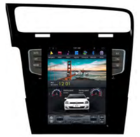 10.4-inch vertical screen Tesla style Android 7.1 car multimedia player for Golf 7 2014