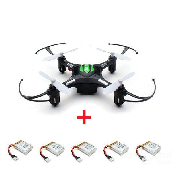 Free Shipping  JJRC H8 MINI RC Quadcopter 6 axis 4CH 2.4GHz One-key-return RC Drones w Headless Mode RTF with 5pc Extra battery