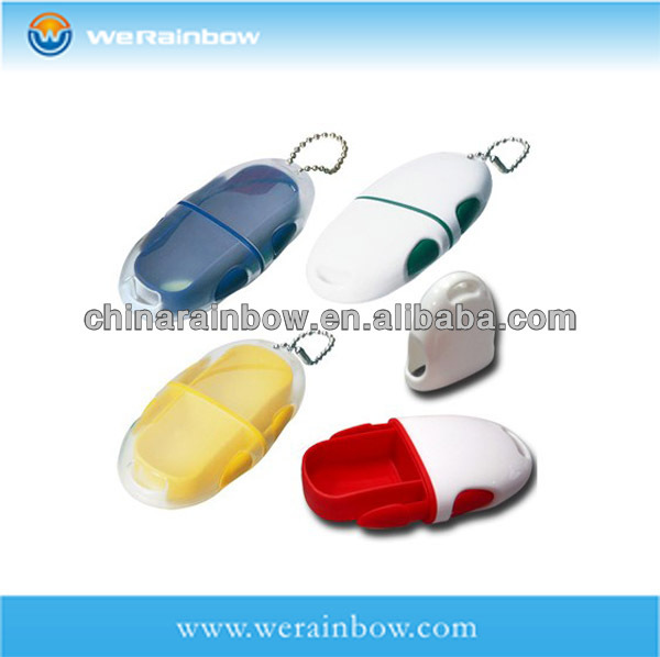 wholesale plastic mini am pm pill box