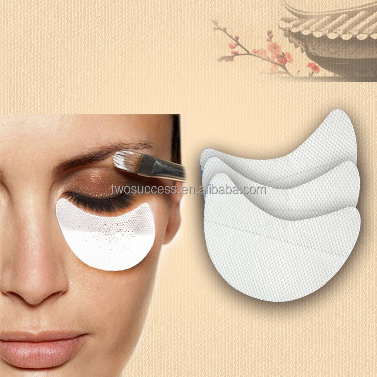 wholesale disposable Adhesive eye makeup eyeshadow fallout shield cosmetic Under Eye area Protects Patches