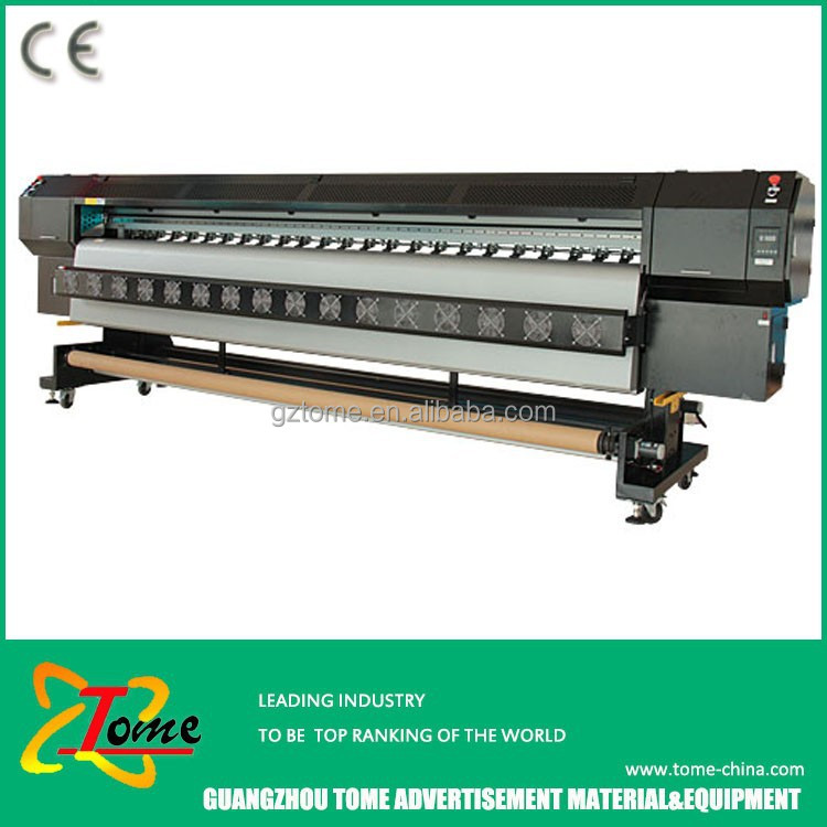 Banner outside solvent printer / digital flex sign printing machine price