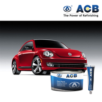 ACB high solids auto body paint 2k mixing clearcoat